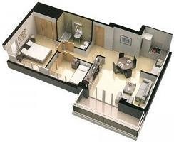 цена план квартиры